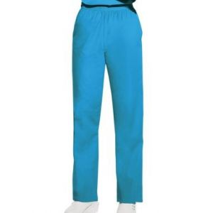 Pantaloni Pull on in Turquoise