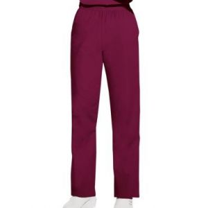 Pantaloni Pull on in Wine