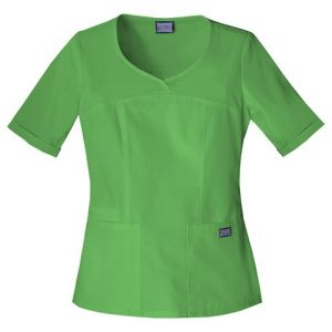 Halat Medical Novelty Neck Top Aloe
