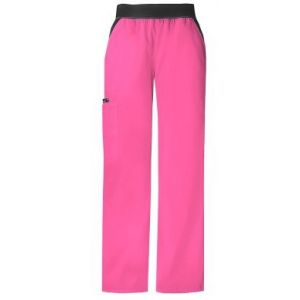 Pantaloni Cargo Pocket in Shocking Pink