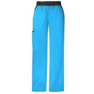 Pantaloni Cargo Pocket in Turquoise
