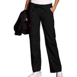 Pantaloni Dama Drawstring in Black