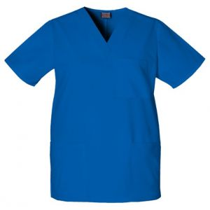 Halat Unisex V-Neck in Royal