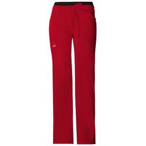 Pantaloni medicali cu talie joasa Red