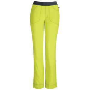 Pantaloni antimicrobieni cu talie joasa slim Citrus