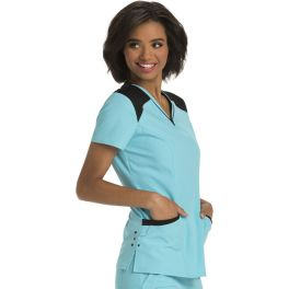 Halat medical Heart Zips A Beat Turquoise