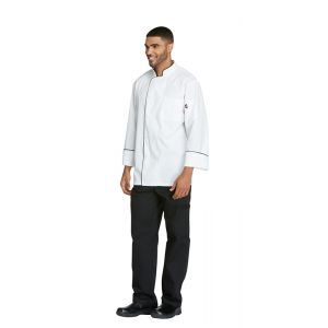 Cool Breeze Chef Coat with piping