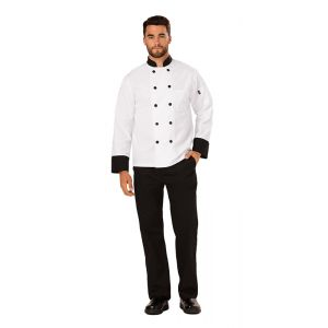 Classic 10 Button Chef Coat