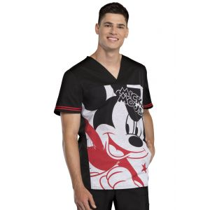 Halat medical barbatesc Disney Mickey Star