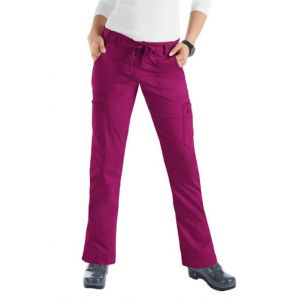 Pantaloni Medicali Stretch Koi Happiness Lindsey Raspberry