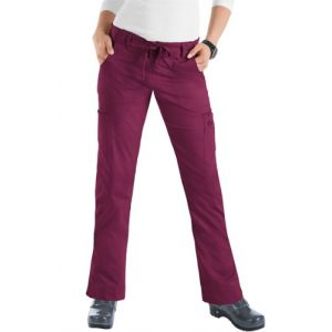 Pantaloni Medicali Stretch Koi Happiness Lindsey Wine
