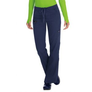 Pantaloni Medicali Stretch Koi Happiness Peace Navy