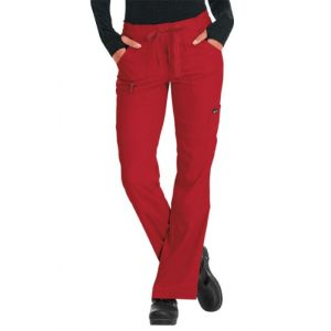 Pantaloni Medicali Stretch Koi Happiness Peace Ruby