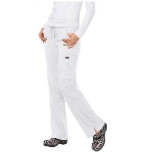 Pantaloni Medicali Stretch Koi Happiness Harmony White