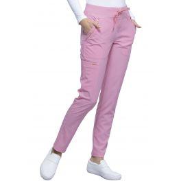 Pantaloni medicali cu talie medie Statement Rose Blossom
