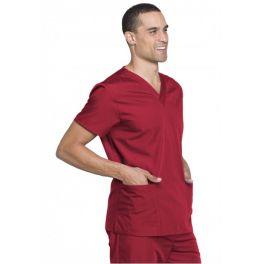 Costum medical unisex Cherokee Workwear Red