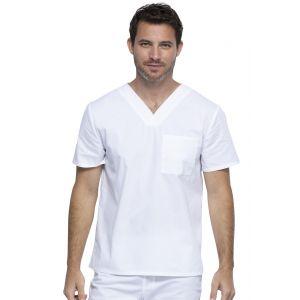 Halat medical unisex Professionals V-Neck in White