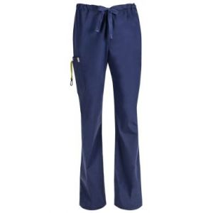 Pantaloni antimicrobieni barbatesti cu bariera fluida Navy
