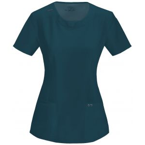 Halat Medical Antimicrobian Round Neck Caribbean Blue