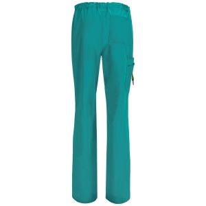 Pantaloni antimicrobieni barbatesti Teal Blue