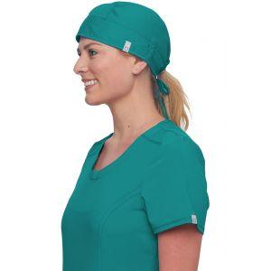 Boneta Chirurgicala Antimicrobiana Cu Bariera Fluida Teal Blue
