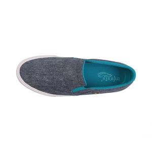 Incaltaminte Medicala Antimicrobiana Barbateasca Rush Heather Navy/Teal- Textile