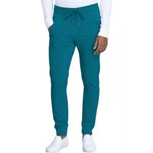 Pantaloni Medicali Barbatesti Jogger Caribbean Blue