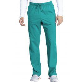 Pantaloni Medicali Unisex Antimicrobieni Cu Barierea Fluida Teal Blue