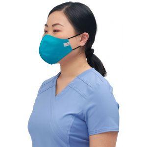 Set 5 Masti Antimicrobiene Cu Bariera Fluida Reutilizabile Teal Blue